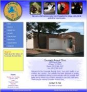 Coronado Animal Clinic Website