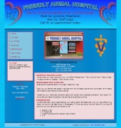 Friendly Animal Hospital Website