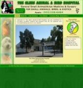 The Glens Animal and Bird Hospital Website
